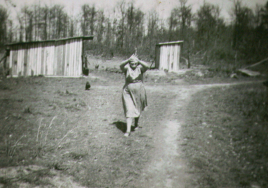 Coming from the Outhouse by Harold Stinnette