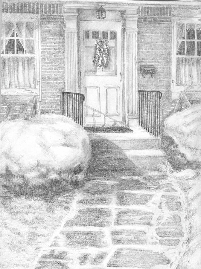 Home Drawing - Coming Home by Marlene Chapin