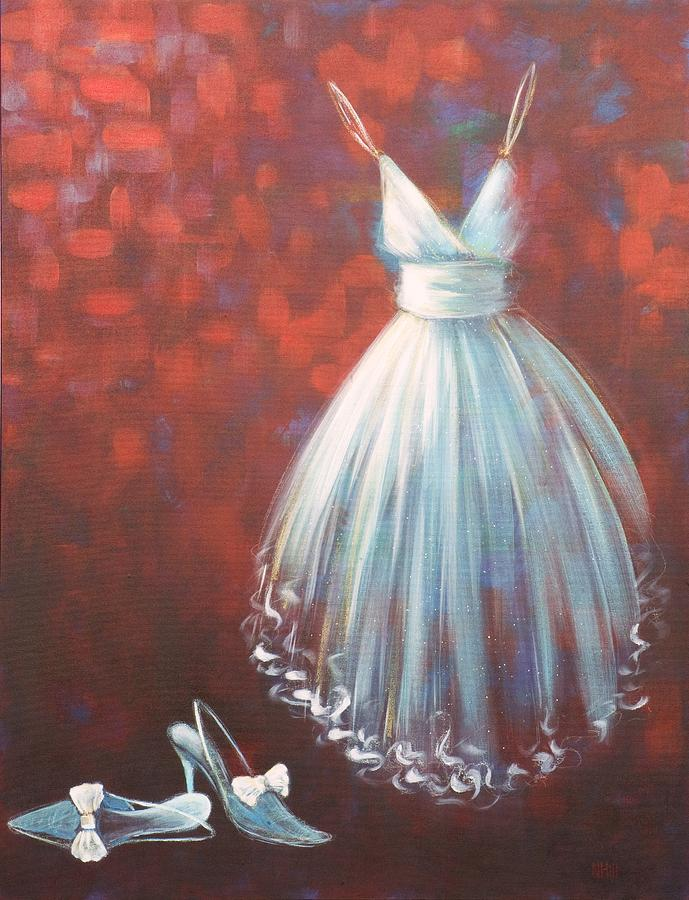 Dress Mixed Media - Coming Out by Nicola Hill