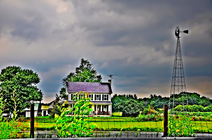 Landscape Photograph - Coming Storm by Bill Cannon