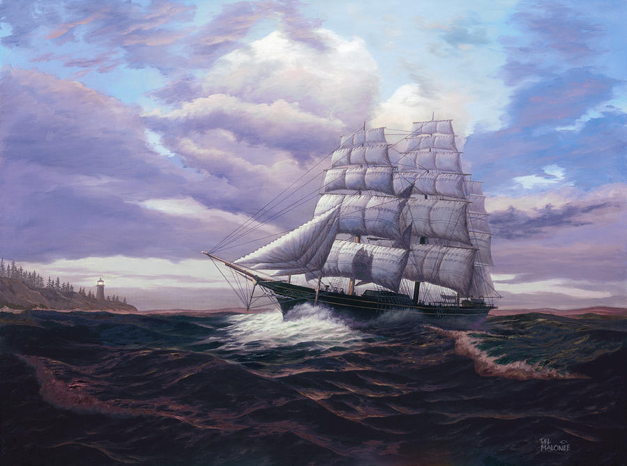 Coming Through The Storm by Del Malonee