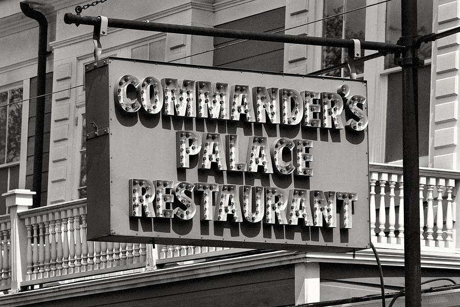 Commanders palace restaurant retro sign garden district - Garden district new orleans restaurants ...