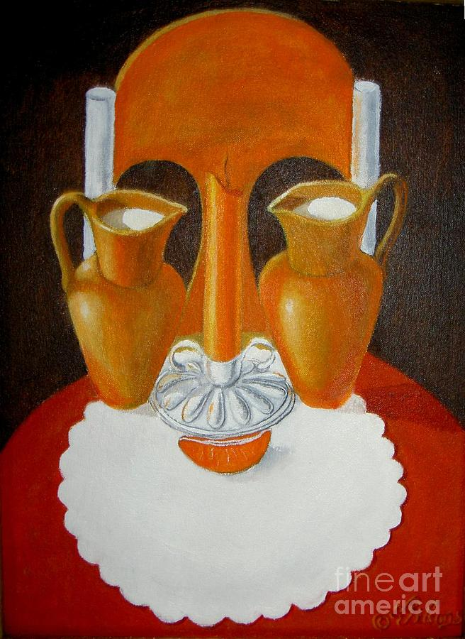 Still Life Painting - Commercialization Of A Myth by David G Wilson