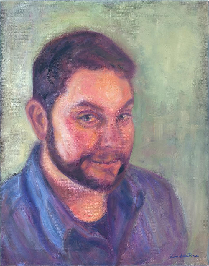 Portrait Painting - Commission An Oil On Canvas Portrait Painting by Quin Sweetman
