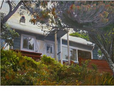 Home Painting - Commissioned Paintings - Homes by Donna G Sage