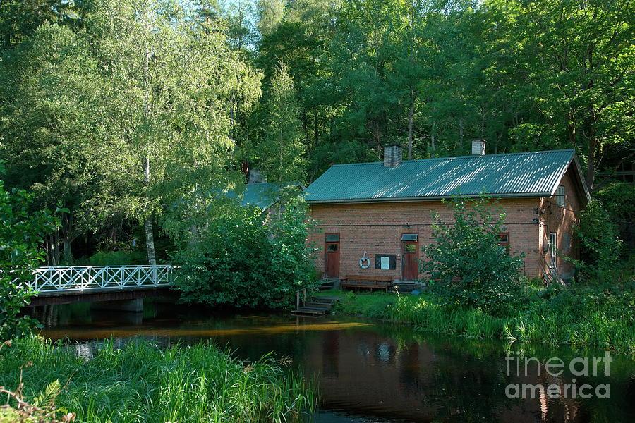 Sauna Photograph - Common Sauna In The Village by Esko Lindell