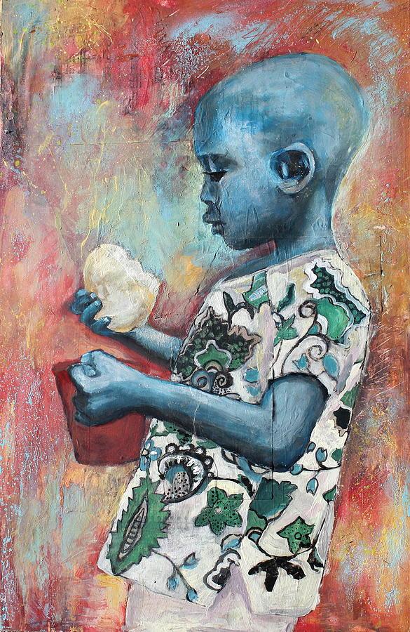 Bread Painting - Communion by Amanda Ryan