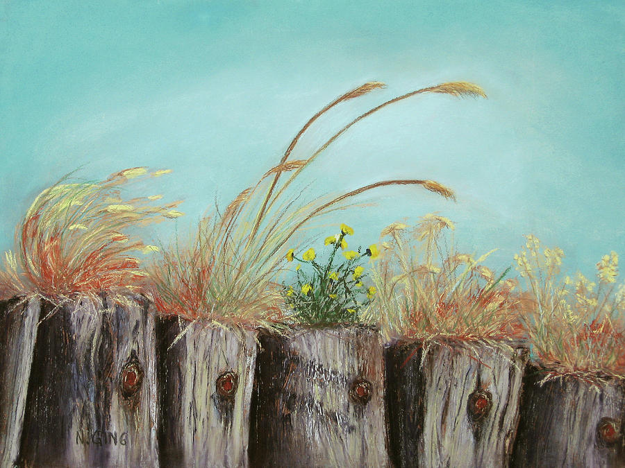 Nature Painting - Community by Nancy Ging