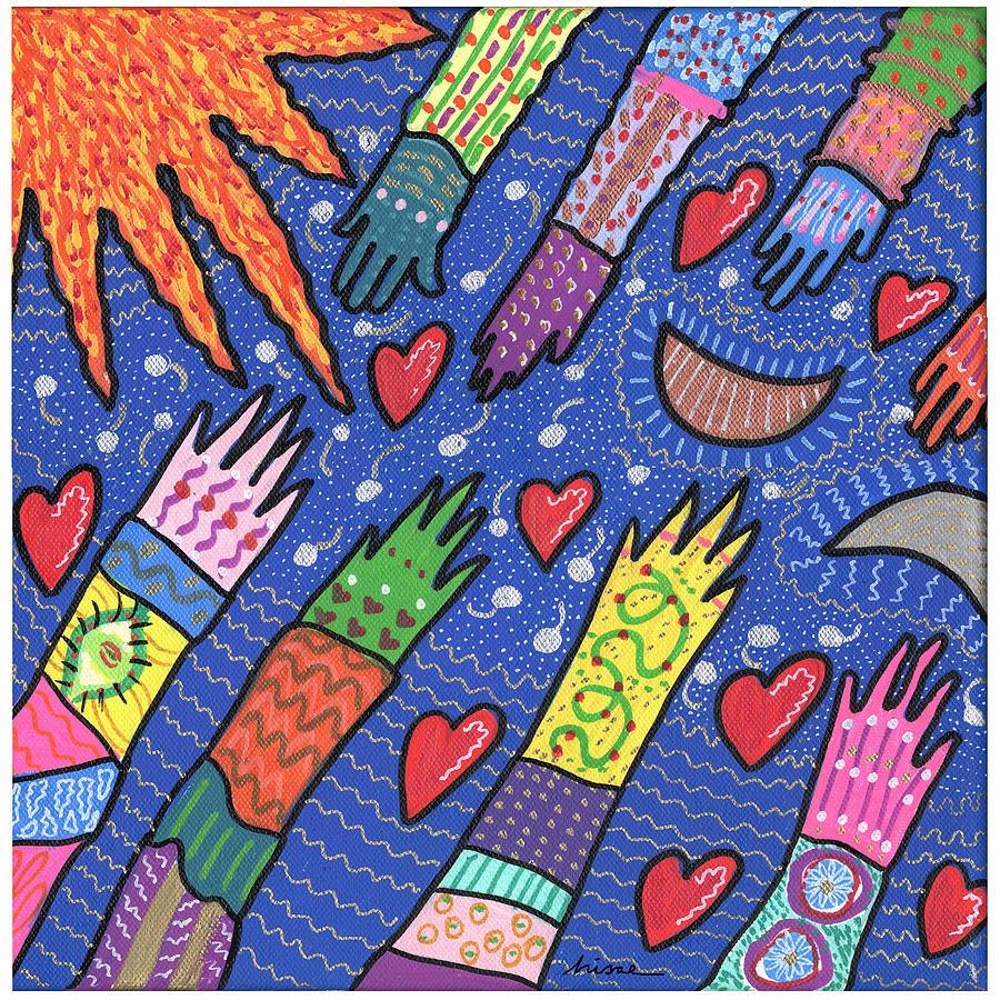 Bright Painting - Community by Sharon Nishihara