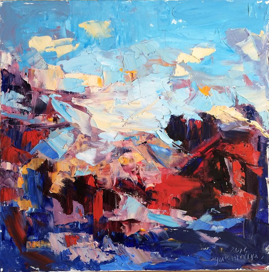 Abstract Painting - Comotion by NatikArt Creations
