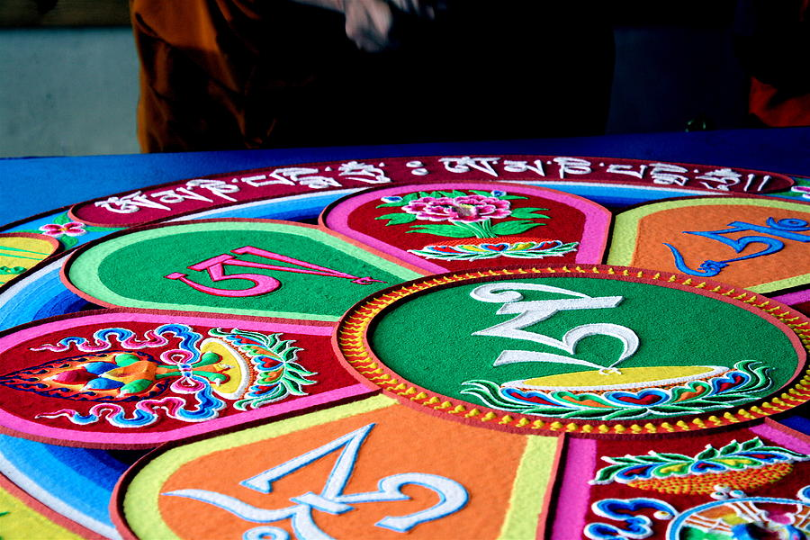 Compassion Photograph - Compassion Mandala by Claire McGee