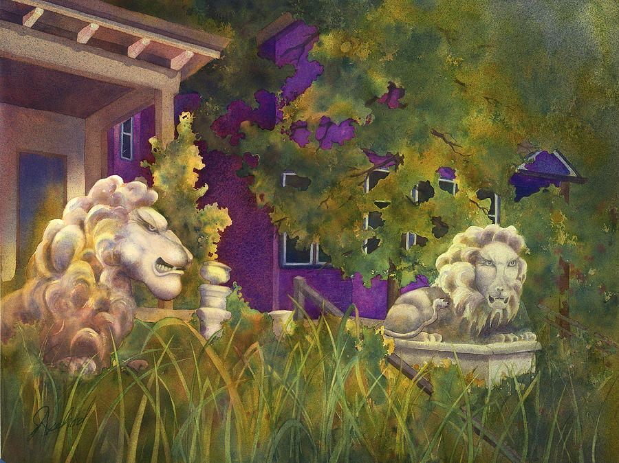 Complaining Lions by Johanna Axelrod