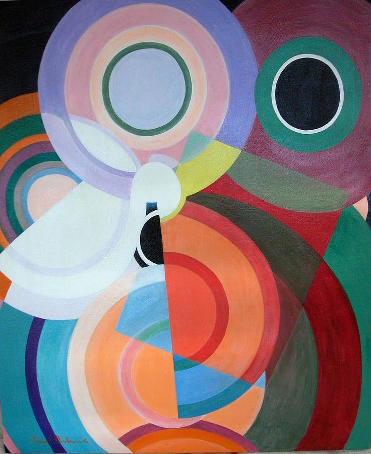 Abstract Painting - Complement by Muriel Dolemieux