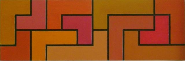 Composicao Geometrica Iv Painting by Nicolau Campos