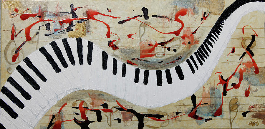 Let The Music Play On by Stephanie Agliano