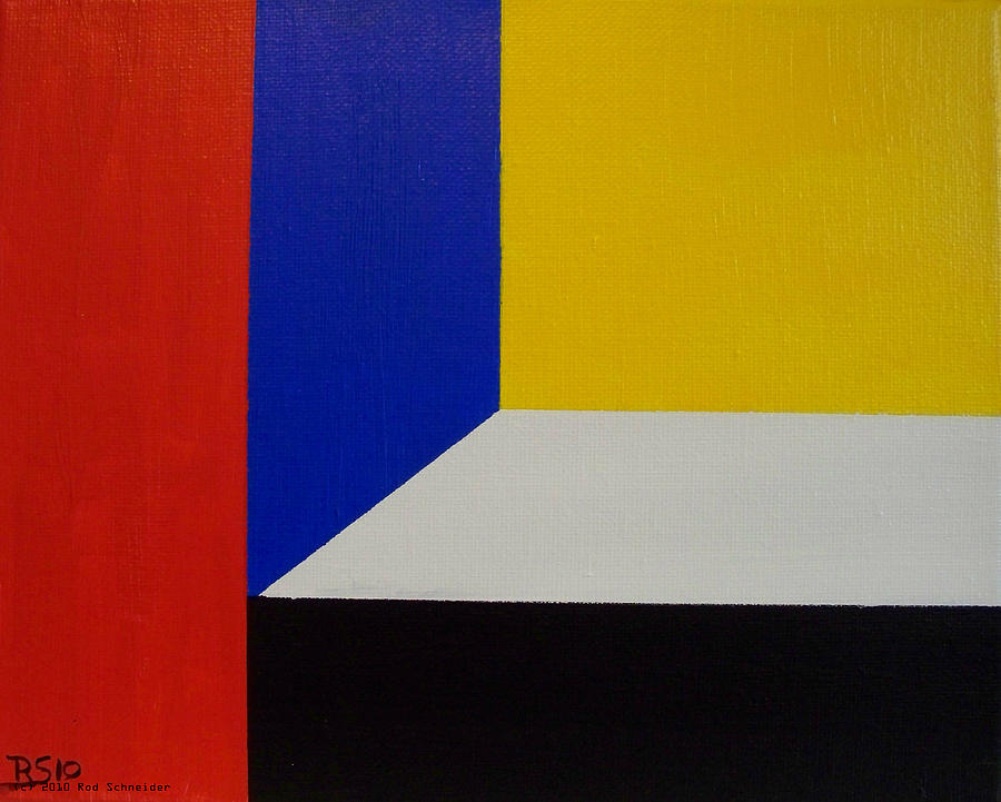 Abstract Painting - Composition 1047 by Rod Schneider