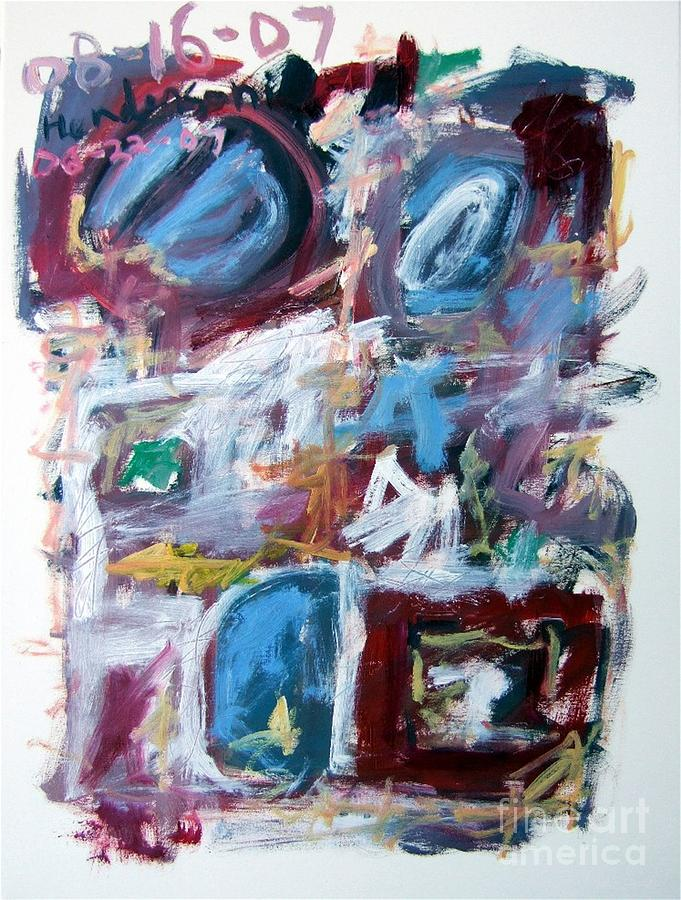 Abstract Painting - Composition No. 10 by Michael Henderson