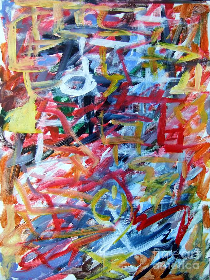 Abstract Painting - Composition No. 11 by Michael Henderson