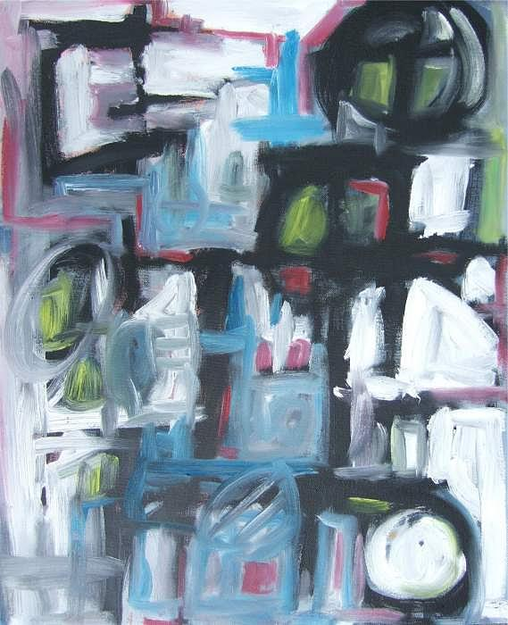 Abstract Painting - Composition No. 3 by Michael Henderson