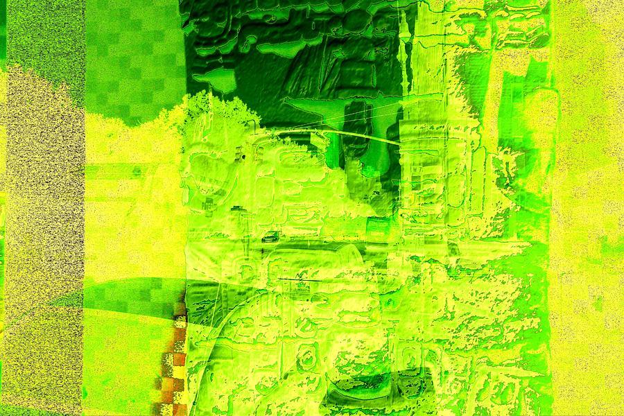 Composition Number 1 Digital Art by Nikita Grabovskiy