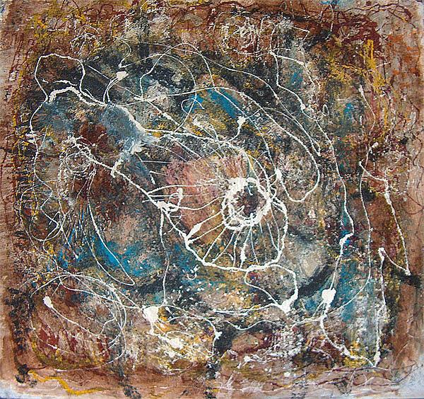 Water Painting - Composition by Prisecaru Radu