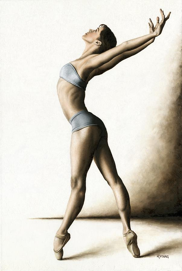 Dance Painting - Composure by Richard Young