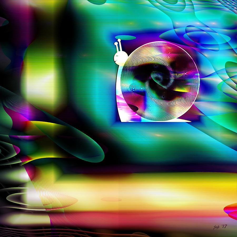 Technology Digital Art - Computer Bugs Series 2 Of 7 by Jennspoint