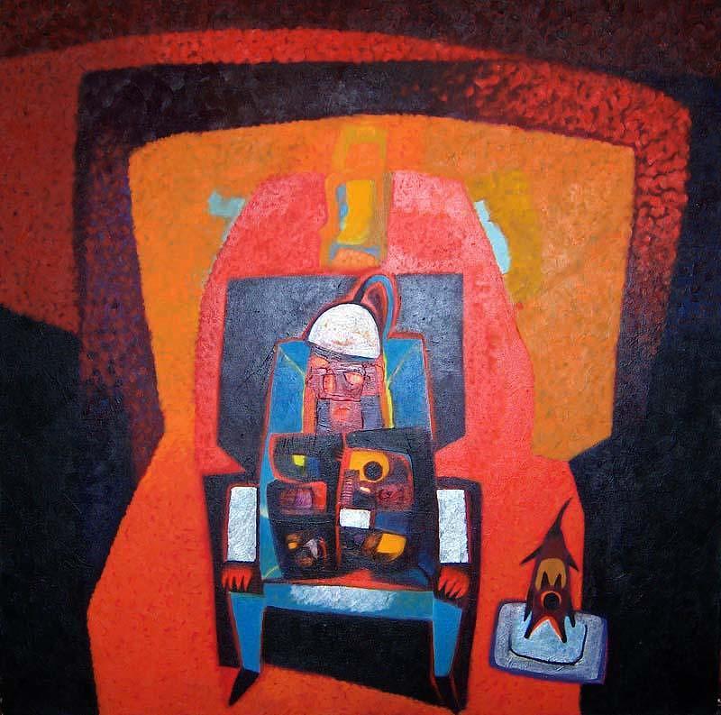 Impressionism Painting - Conair by Edbon Sevilleno