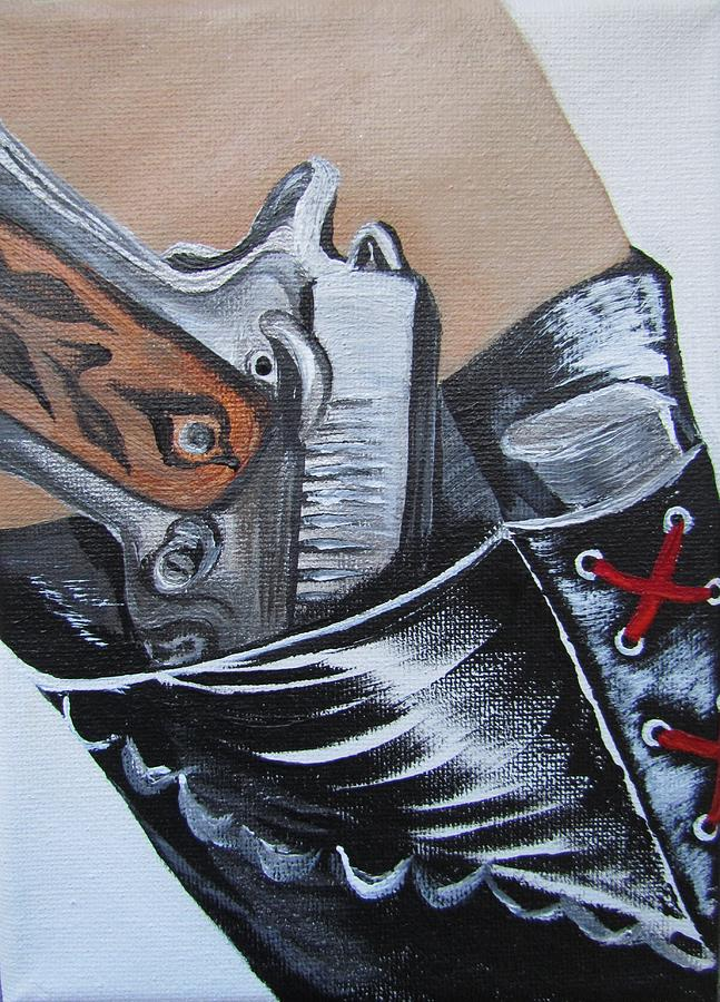 Concealed Carry Painting - Be Prepared by Mandy Joy