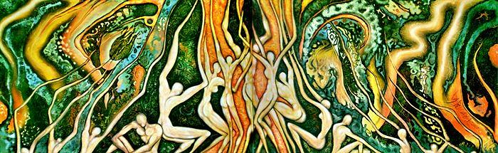 Surreal Painting - Conception by Ibrahim Savas Pekdemir