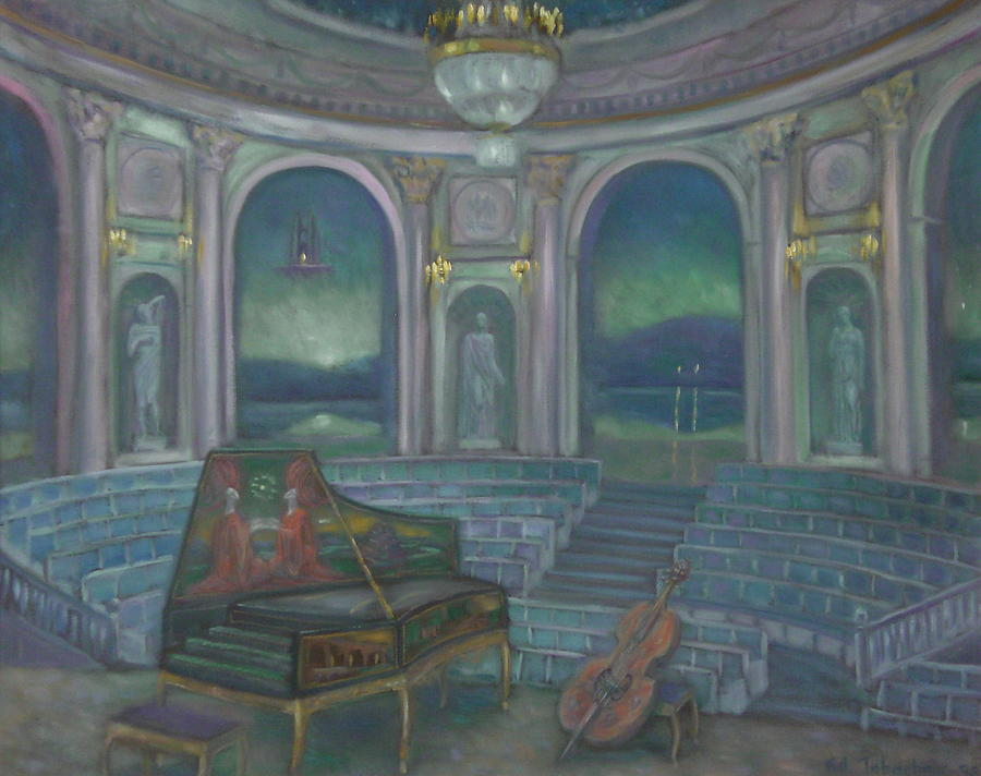 Hermitage Painting - Concert In Hermitage Theater by Edward Tabachnik