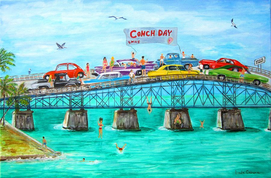 Conch Day by Linda Cabrera