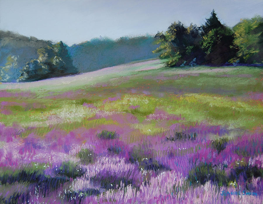 Concord Painting - Concord Loosestrife by Jeanne Rosier Smith