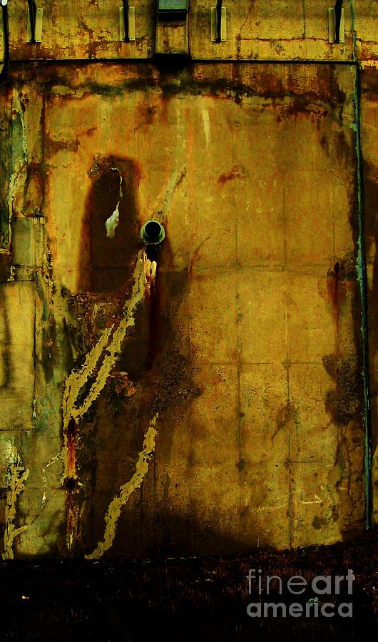 Concrete Objects Photograph - Concrete Canvas by Reb Frost