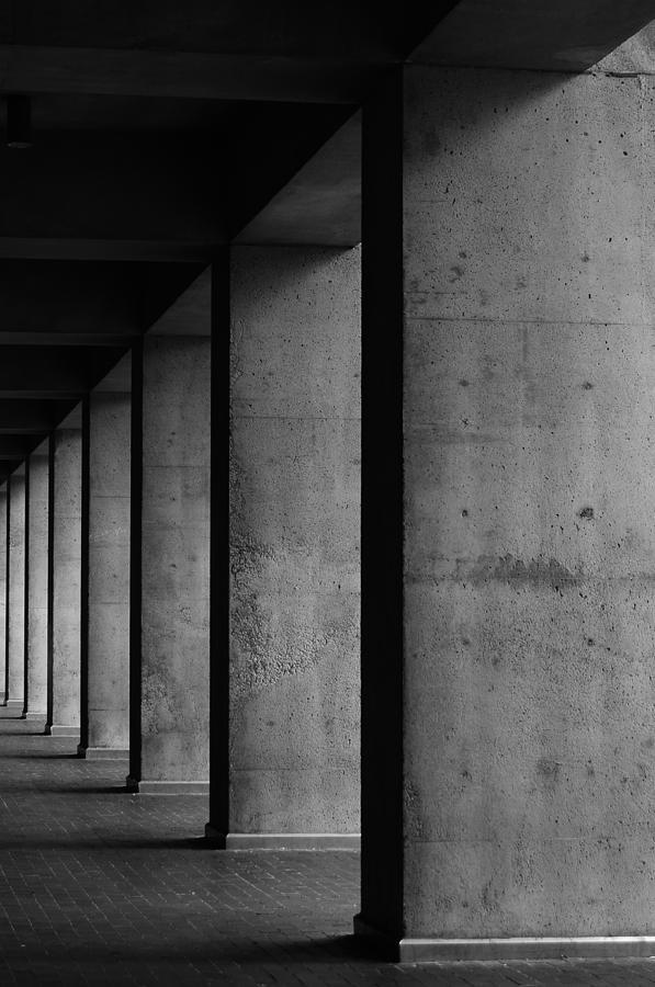 Seattle Photograph - Concrete by Daniel Lih