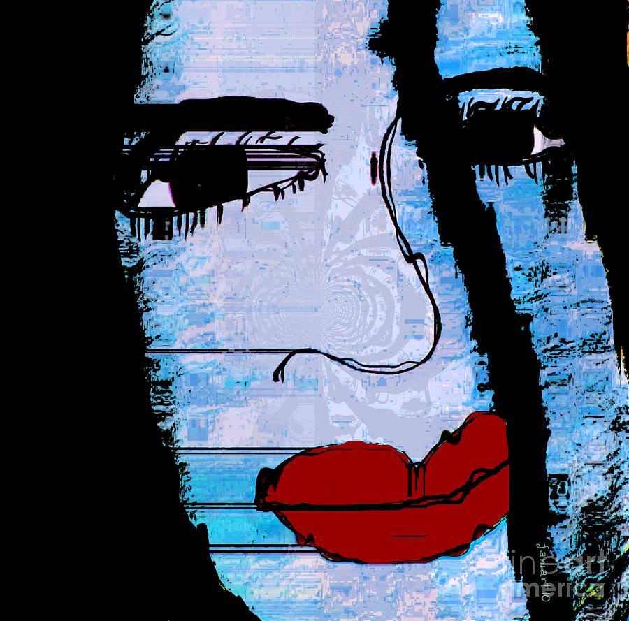 Fania Simon Drawing - Concrete Memory by Fania Simon