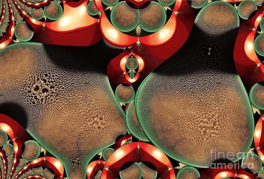 Digital Painting Digital Art - Condensation by Ron Bissett