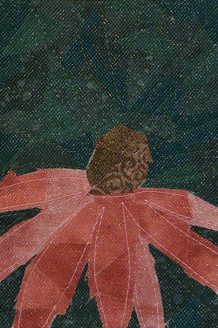 Cone Flower Tapestry - Textile - Cone Flower by Pam Geisel