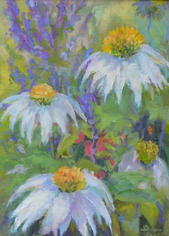Cone Flowers by Patricia Maguire