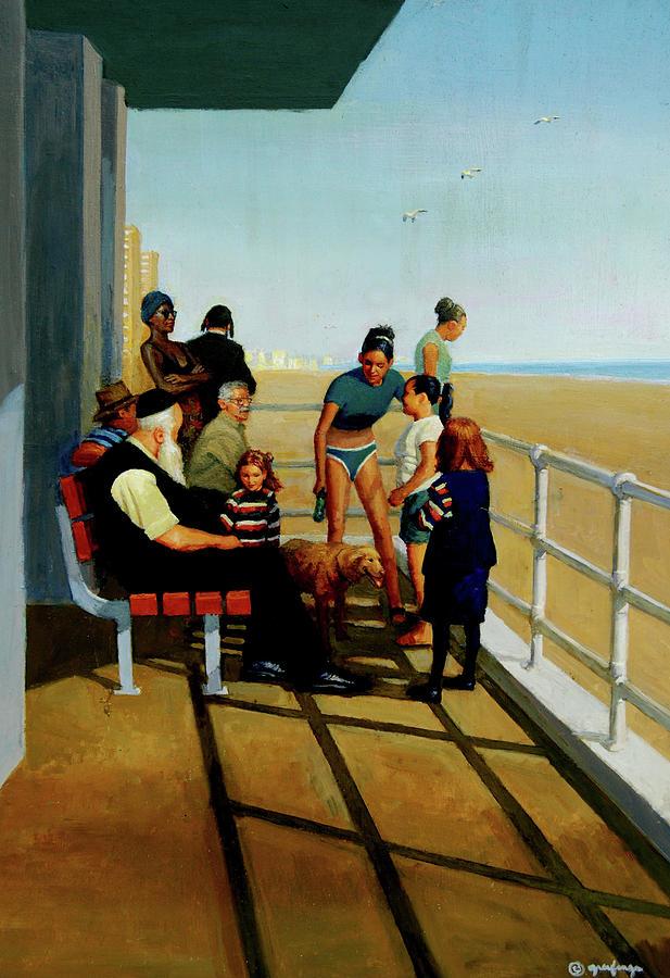 Coney Island by Mel Greifinger