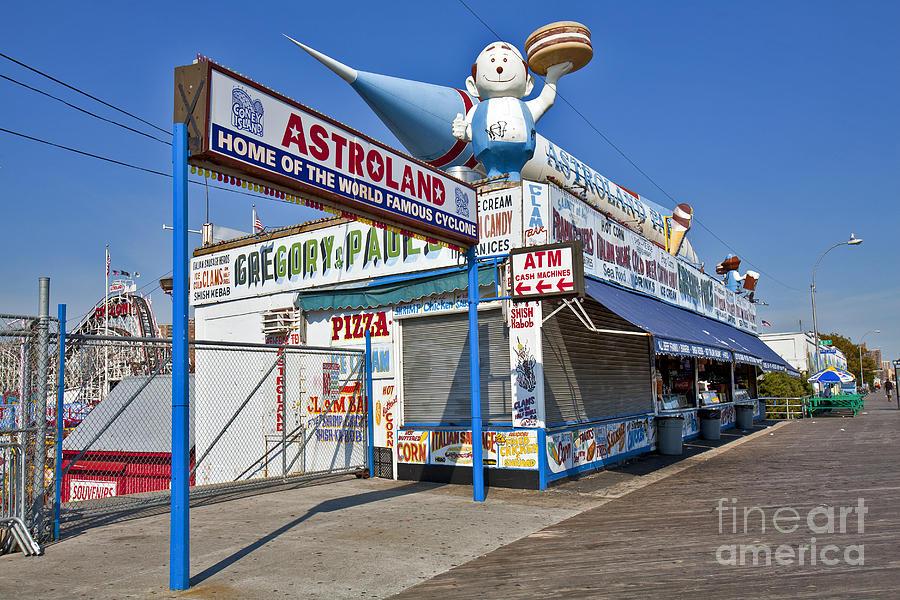 Astroland Photograph - Coney Island Memories 11 by Madeline Ellis