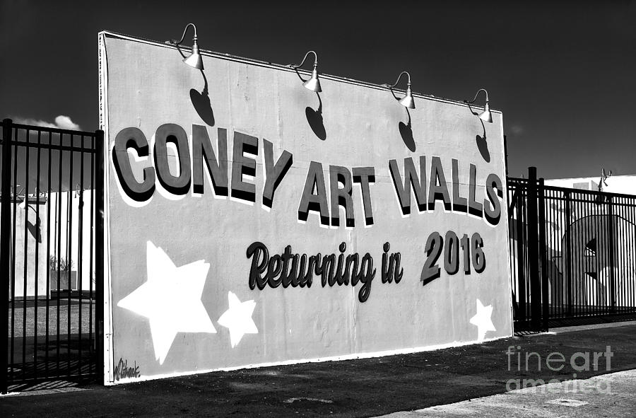 Street Scene Photograph - Coney Island Wall Art Returning In 2016 by John Rizzuto