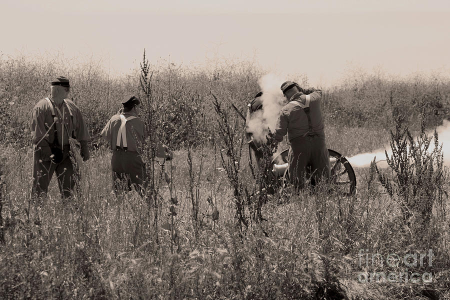 Confederate Artillery Photograph