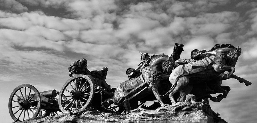 Civil War Photograph - Confederate Charge by Day Seriani