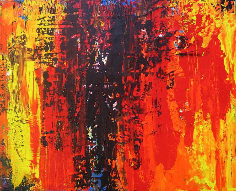 Painting Painting - Confucius Says by Carrie Allbritton