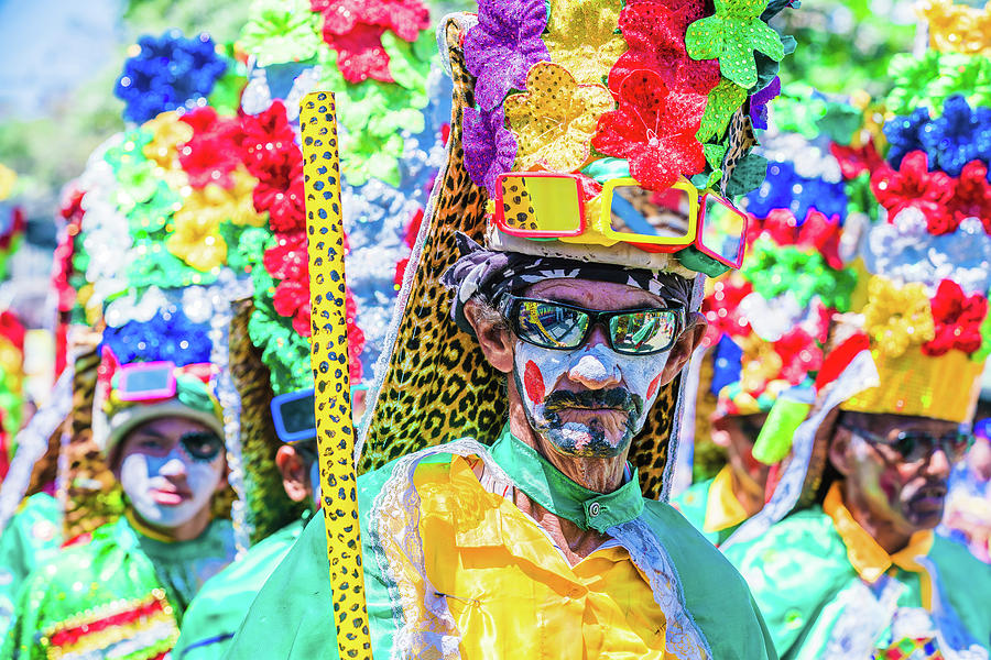 Congos Dance At Barranquilla Carnival Photograph