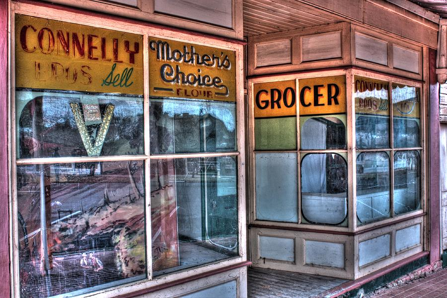 Connelly Photograph - Connelly Bros Store. by Ian  Ramsay