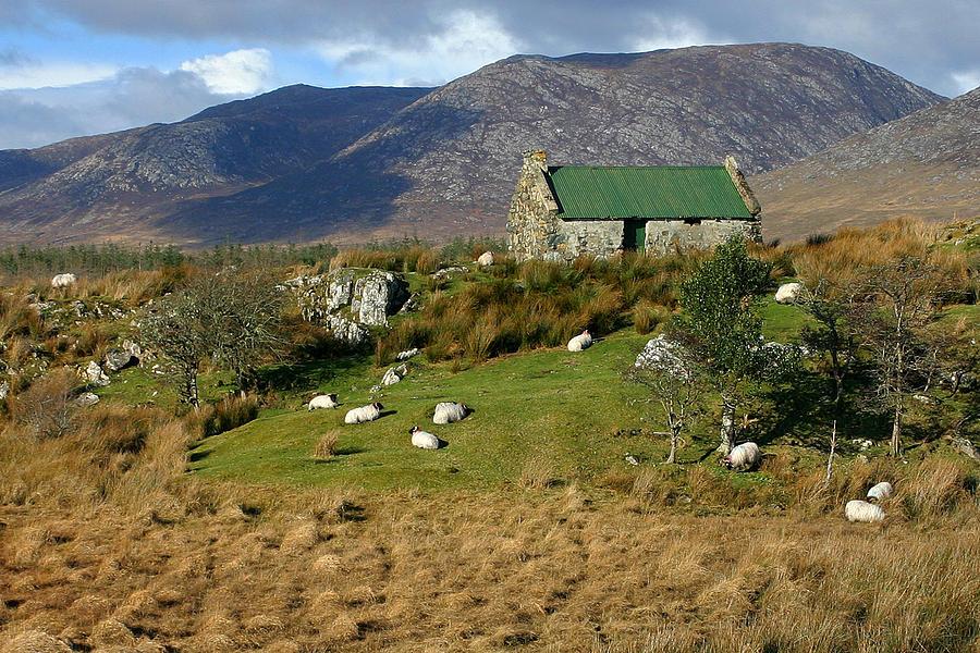 Connemara Cottage Ireland Photograph by Pierre Leclerc ...