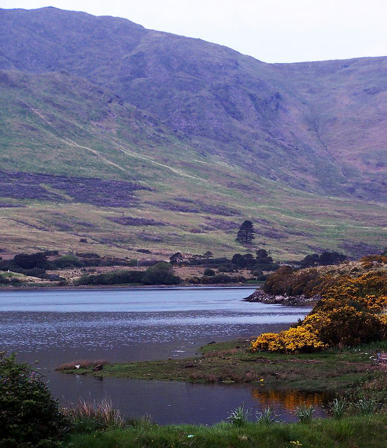 Landscape Photograph - Connemara Leenane Ireland by Teresa Mucha