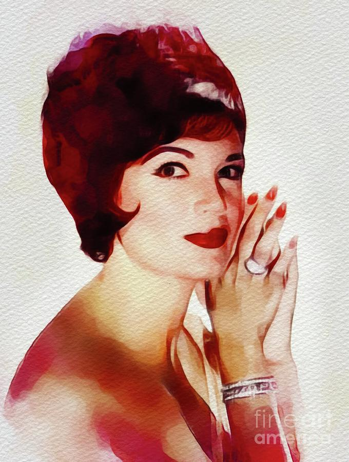 Connie Francis, Music Legend Painting